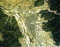 Katsuyama city center area Aerial photograph.1977.jpg