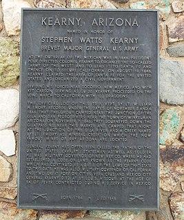 Kearny, Arizona Town in Arizona, United States