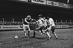 Kees Kist (AZ'67), Ivan Nielsen, Jan van Deinsen en Michel van de Korput, inventory number 930-5343.jpg