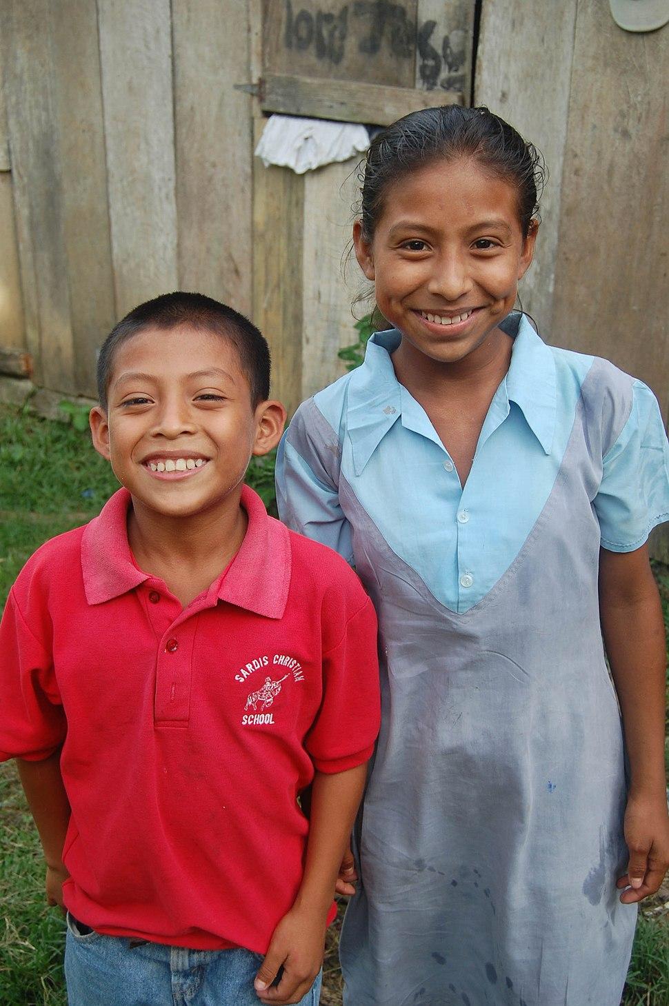 Kek%27Chi Maya Children