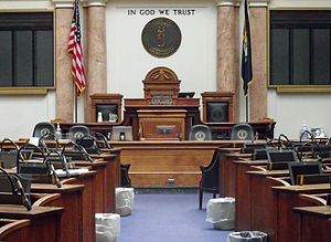 Kentucky House of Representatives - Image: Kentucky House of Representatives chamber