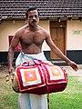 Kerala - Hindu Temple Drummers (15784047139).jpg