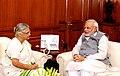 Kerala Governor Sheila Dixit meets PM Modi.jpg