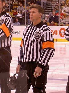 Kerry Fraser Canadian ice hockey official