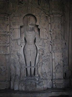 Javari Temple, Khajuraho - Image: Khajuraho India, Javari Temple, Main Idol, Photographed on 10 March 2012