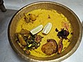 Khichuri With Fried Vegitables - Kojagari Lakshmi Puja Offering - Bengali Brahman Family - Howrah 20171005173513.jpg