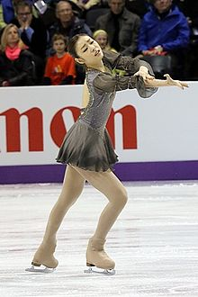yuna kim   wikipedia kim performing her free skate to les misrables at the  world  championships