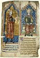 King Stephen and King Henry II - Miscellaneous chronicles (c.1280-1300), f.4v - BL Cotton MS Vitellius A XIII.jpg