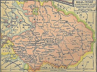 Hussites - The Lands of the Bohemian Crown during the Hussite Wars. The movement began in Prague and quickly spread south and then through the rest of the Kingdom of Bohemia. Eventually, it expanded into the remaining domains of the Bohemian Crown as well.