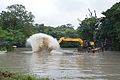 Kings Lake Dredging - Banyan Avenue - Indian Botanic Garden - Howrah 2013-10-27 3839.JPG