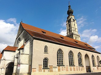 Braunau am Inn - St Stephen's Church