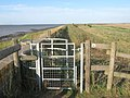 Kissing Gate on the Sea wall - geograph.org.uk - 1418125.jpg