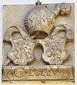 Klagenfurt Viktring Stift Renaissancetrakt Wappenrelief 1613 Abt Georg Reinprecht 23042011 8239.jpg