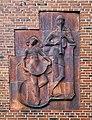 Knabe und Mädchen (Böhlig) an der Schule Eschenweg in Hamburg-Fuhlsbüttel.jpg