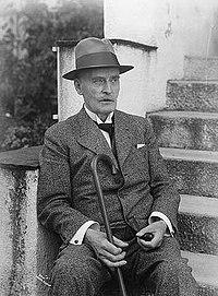 کنوت هامسون در سال ۱۹۳۶
