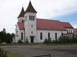Kościół dwuwieżowy w Krzyżu Wlkp..jpg