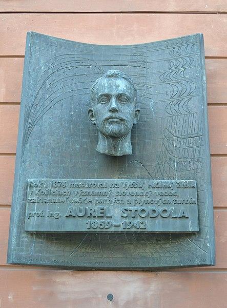 Súbor:Košice - Aurel Stodola.jpg