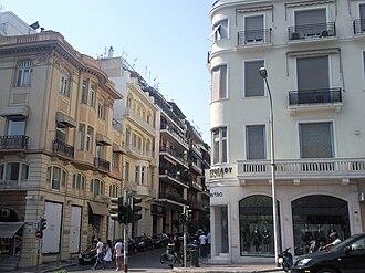 Kolonaki - Image: Kolonaki, Main Avenue