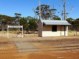 Kondinin, Western Australia - Railway station, Jones Street, 2014