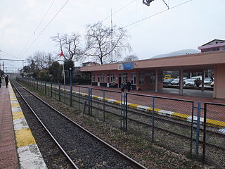 Yarımca railway station