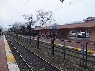 """Yarımca station - """"Körfez"""" station in 2012 before reconstruction and renaming."""