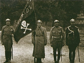 White movement - Kornilov's Shock Detachment (8th Army), later became the Volunteer Army's elite Shock Regiment