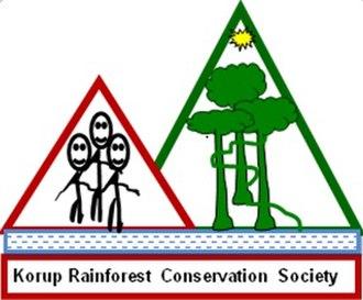 Korup National Park - Korup Rainforest Conservation Society Logo