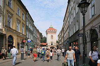 Floriańska Street or St. Florian