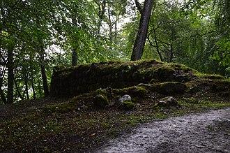 Krimulda Castle - Image: Krimulda piiskopilinnuse varemed 03