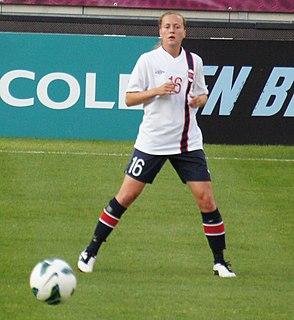 Kristine Minde Norwegian footballer