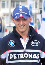 Robert Kubica in Warsaw, 2006