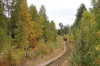 Severodvinsk - Kudemskaya narrow-gauge railway (2011)