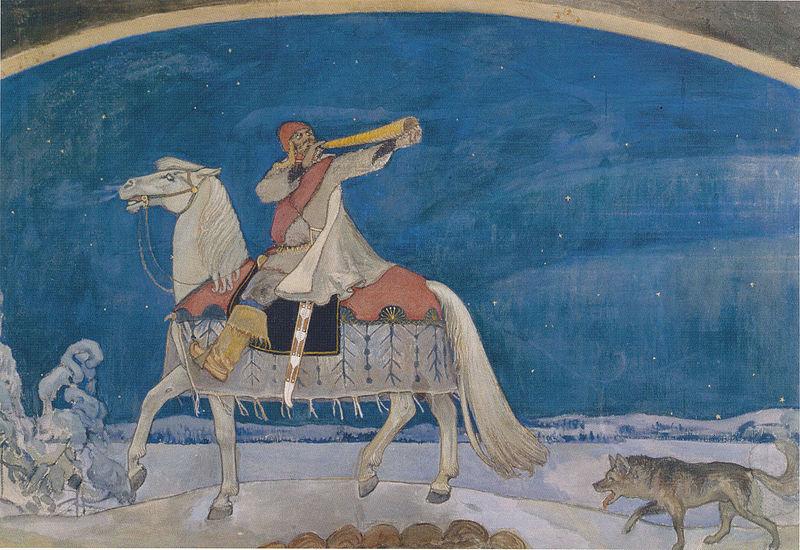 Akseli Gallen-Kallela (1865 – 1931) 800px-Kullervon_sotaanl%C3%A4ht%C3%B6