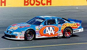 Hot Wheels - The Hot Wheels-sponsored car of Kyle Petty in 1997
