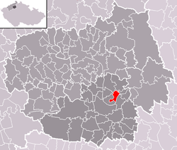 Location of Kyškovice