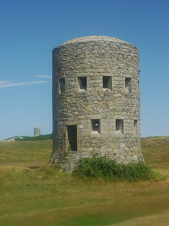 Vale, Guernsey - L'Ancresse Loophole Tower no. 6