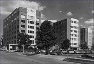 LDS Hospital - Image: LDS Hospital past 1960