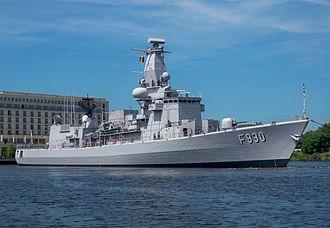 Belgian Navy - Frameless