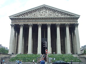 Henri Dallier - Église de la Madeleine in Paris