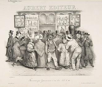 Charles Philipon - La Maison Aubert (1831)