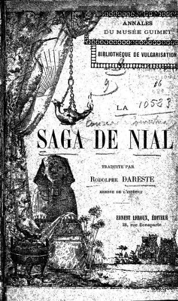 File:La Saga de Nial, trad. Dareste, 1896.djvu