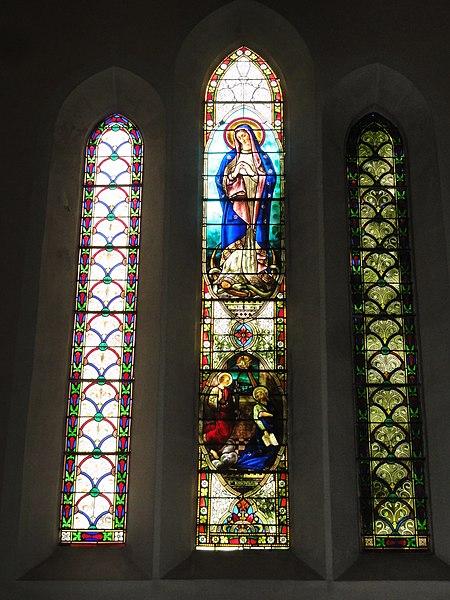 Labenne (Landes) église Saint Nicolas, vitrail 02