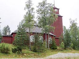 Lagfors kirke i august 2005
