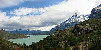 Otto Nordenskjöld - Lago Nordenskjöld in southern Chile.