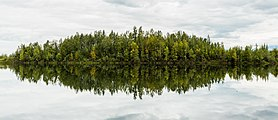 Lago de las Reflexiones, Palmer, Alaska, Estados Unidos, 2017-08-22, DD 08.jpg