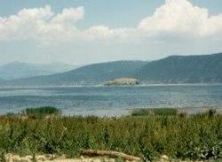 Liqenet më të mëdhenj te Shqiperise 250px-Lake_Prespa