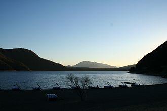 Saiko Lake - from Eastern end