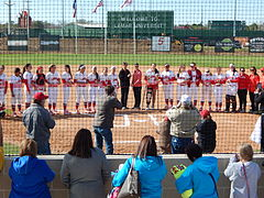Lamar Softball Complex Grand Opening
