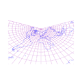 Lambert conformal conical projection of world with grid.png