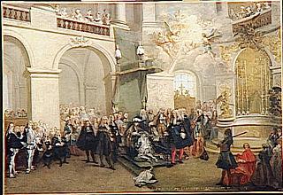 La Remise de l'ordre du Saint-Esprit